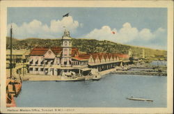 Harbour Masters Office, Trinidad, B.W.I. - 25514