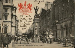 The Griffin, Fleet Street Postcard