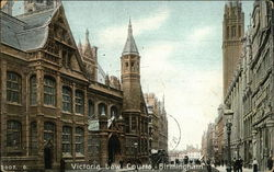 Victoria Law Courts Postcard