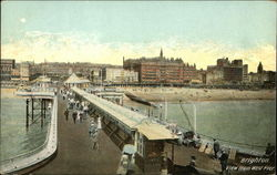 View from West Pier Postcard