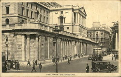 The Bank of England Postcard