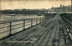 Southend-on-Sea from Pier Postcard