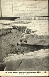 An Arctic Scene, Southend-on-Sea, Jan. 16th, 1905