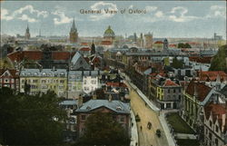 General View of City Postcard