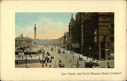 Lime Street and North Western Hotel