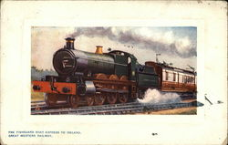 The Fishguard Boat Express to Ireland, Great Western Railway