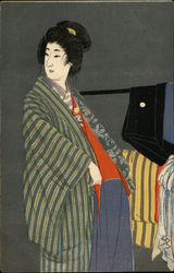 Asian Woman in Kimono