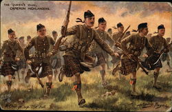 The Queen's Own Cameron Highlanders, A Charge up the Hill