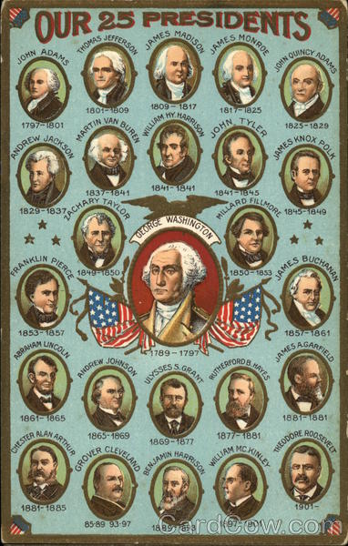 Our 25 Presidents President's Day