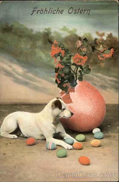 Frohliche Ostern Dogs