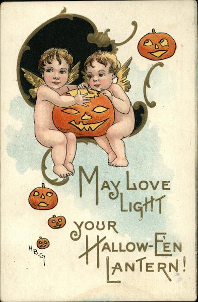 May Love Light Your Hallow-E'en Lantern! H.B. Griggs (HBG)
