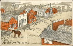 Drawing of Frontier Main Street