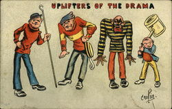 Uplifters of the Drama Postcard
