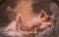 """Golden Rain"" - Nude Reclining"