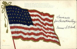 American Flag with Poem