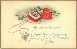 To My Valentine - My Sweetheart - I've a heart that's always true
