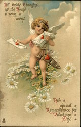 Cupid Delivering Love Letters