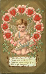 Cupid Holds the Key of Love to Thy Dear Heart and Mine