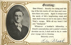 Greeting: Dear Friend: Steadily the Rising and Falling of the Tide Marks off Our Days