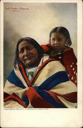Eagle Feather & Papoose, Sioux