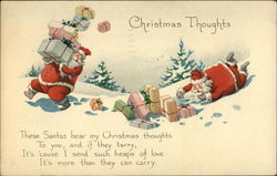 Christmas Thoughts Postcard