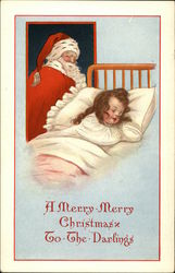 A Merry Merry Christmas to the Darlings Postcard