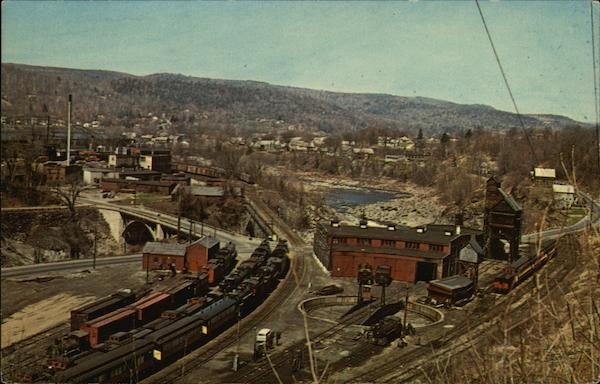 Steamtown USA Bellows Falls Vermont