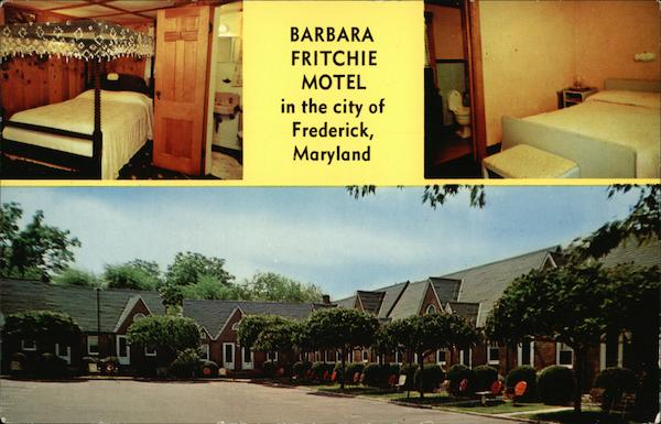 Barbara Fritchie Motel Frederick Maryland