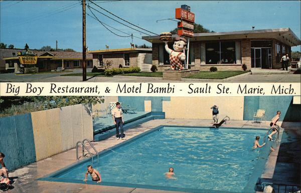 big boy restaurant motel bambi sault ste marie mi. Black Bedroom Furniture Sets. Home Design Ideas