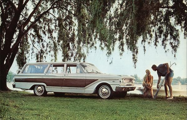 1963 Ford Fairlane Squire Wagon Cars