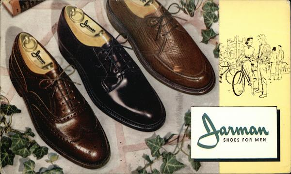 Jarman Shoes for Men Advertising