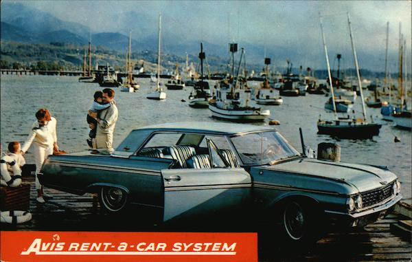 Avis Rent-a-Car System Cars Advertising