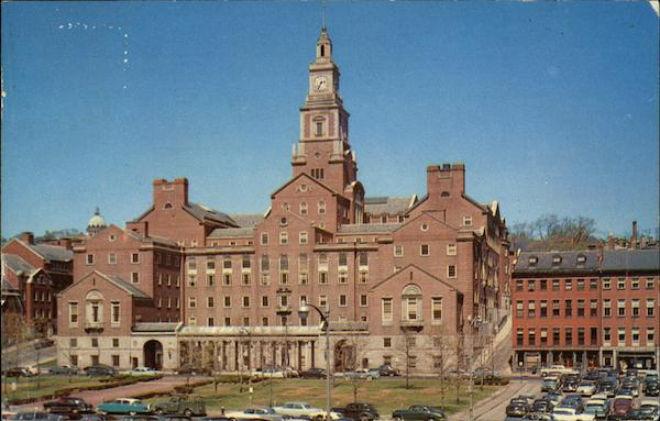 Bird's Eye View of Court House Providence Rhode Island