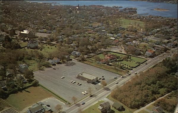 Aerial View of Route 6 Fairhaven Massachusetts