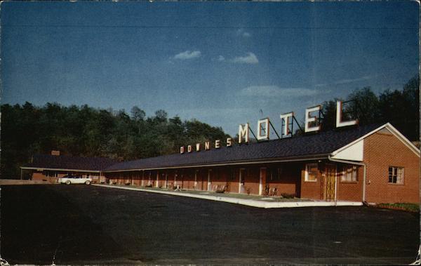 Downes Motel Amp Restaurant Fort Littleton Pa