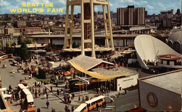 Industrial Exhibits 1962 Seattle World's Fair