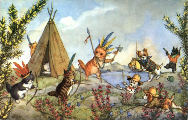 Cowboys and Indians Molly Brett Cats