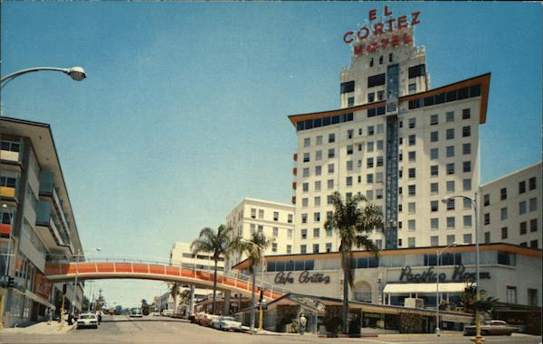 The El Cortez Hotel San Diego California