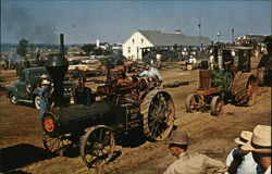 Parade of Steam Engines