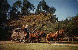 Stage Coach - knott's Berry Farm, Ghost Town, California