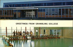 Grambling College - Physical Education Building, Swimming Pool