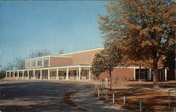 Louisiana Tech - Student Center Building Postcard