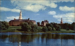 Across Johnson Pond at Colby College