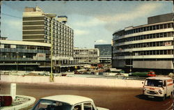 Smallbrook Street Ringway from Bath Row Postcard