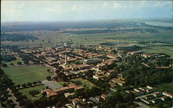 Aerial View of Louisiana State University