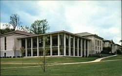 Middlebury College - The Egbert Starr Library Postcard