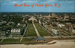 Aerial View of Ocean Grove, N.J