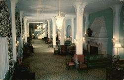 The Flanders Hotel - Ground Lobby Postcard