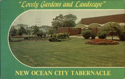 Lovely Gardens and Landscape, New Ocean City Tabernacle