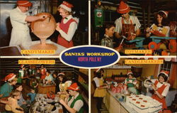 Santa's Workshop, Candymaker, Toymaker, Glassblowers, Candlemakers